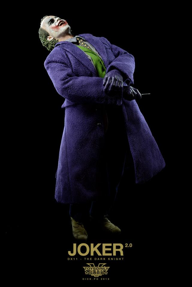 Final Product Images for Hot Toys Joker 2.0 Figure