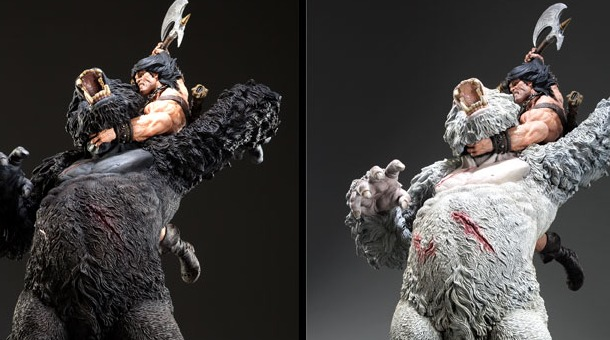 Conan the Barbarian Fury of the Beast Statue Pre-Order