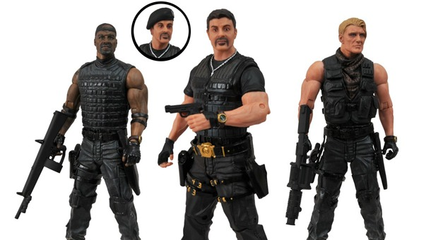 Expendables 2 Action Figures featured