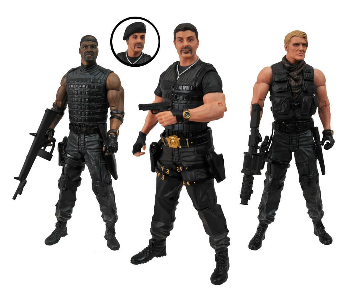 ... Action Figures Are...
