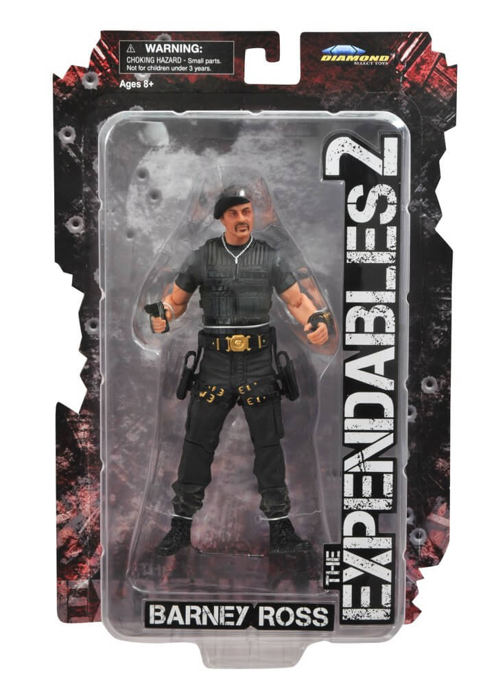 Expendables 2 Action Figures