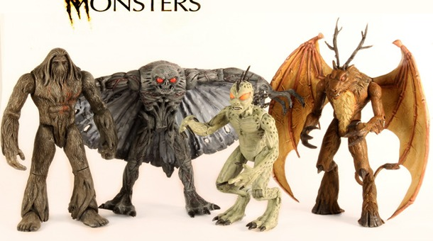 Legendary Monsters Action Figures featured