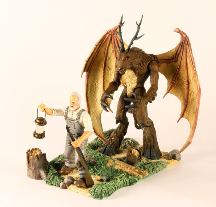 Legendary Monsters Action Figures the jersey devil
