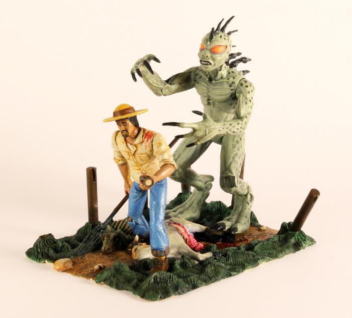 Legendary Monsters Action Figures chupacabra