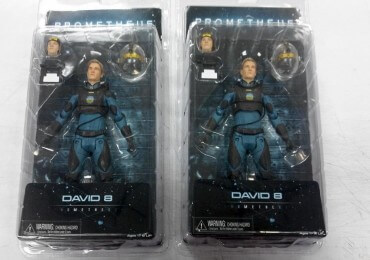NECA Prometheus David 8 Packaging