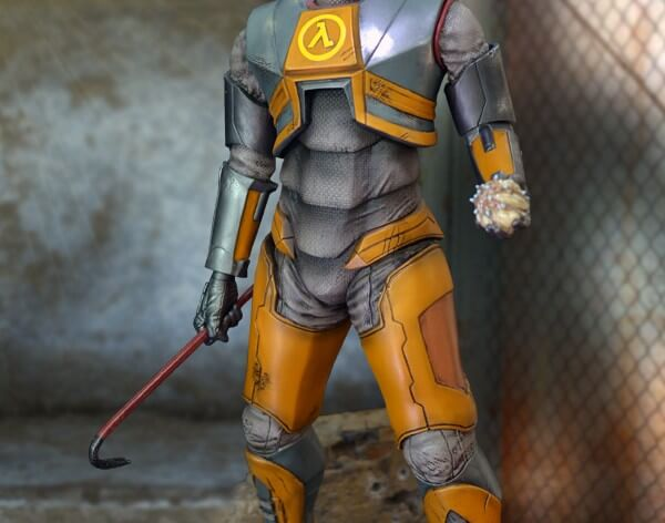 Half Life Gordon Freeman 1/4 Scale Statue