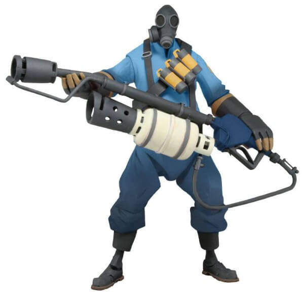 NECA Team Fortress 2 BLU Demoman and Pyro
