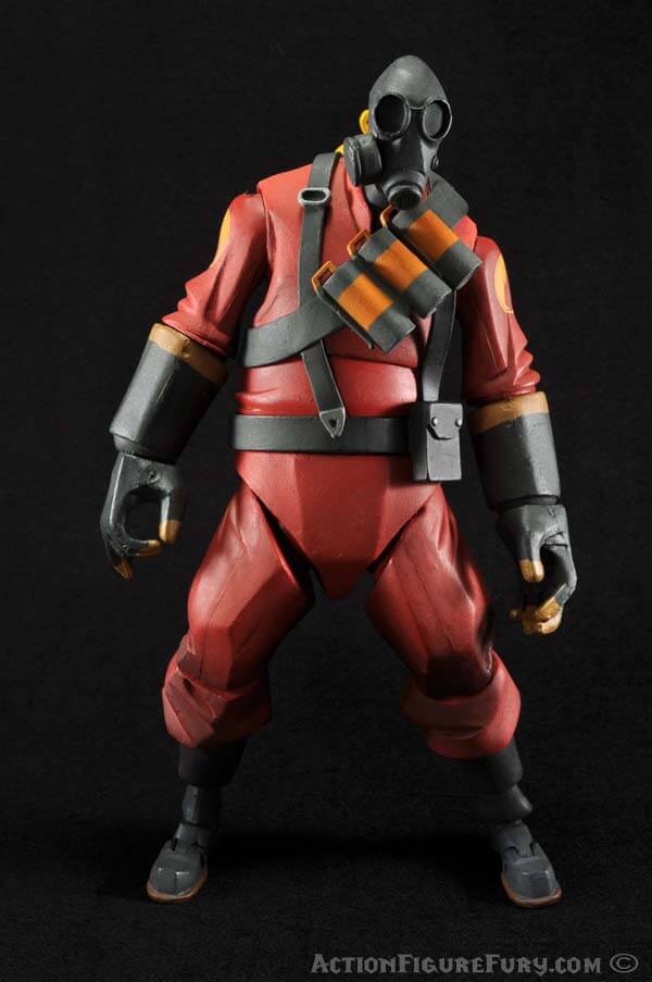 NECA Team Fortress 2 Pyro Figure front