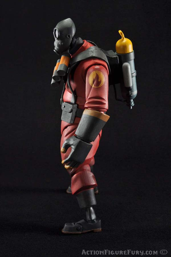 NECA Team Fortress 2 Pyro Figure left side