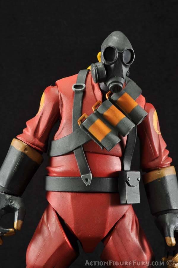 NECA Team Fortress 2 Pyro Figure upper torso