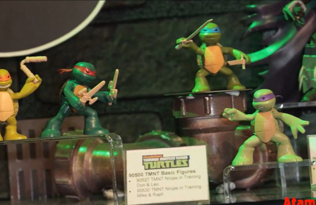 Toys For Trainers : Playmates toys toy fair tmnt images action figure