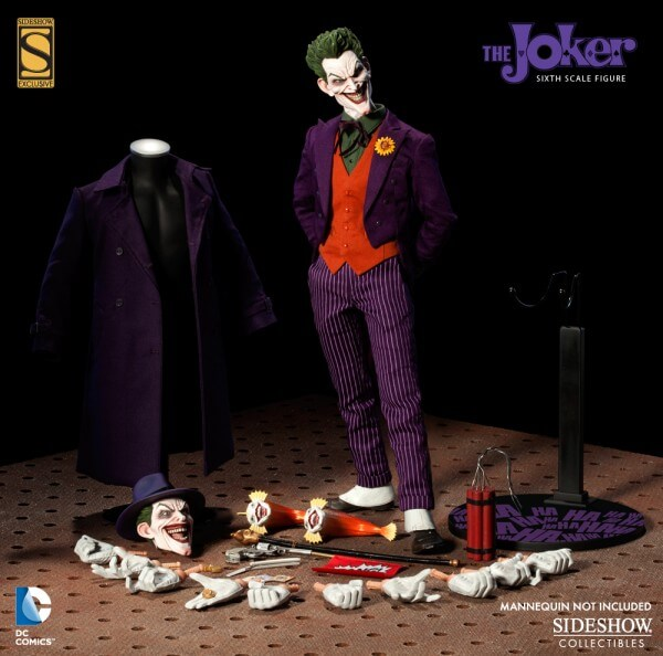 Sideshow Collectibles DC Joker Sixth Scale Figure