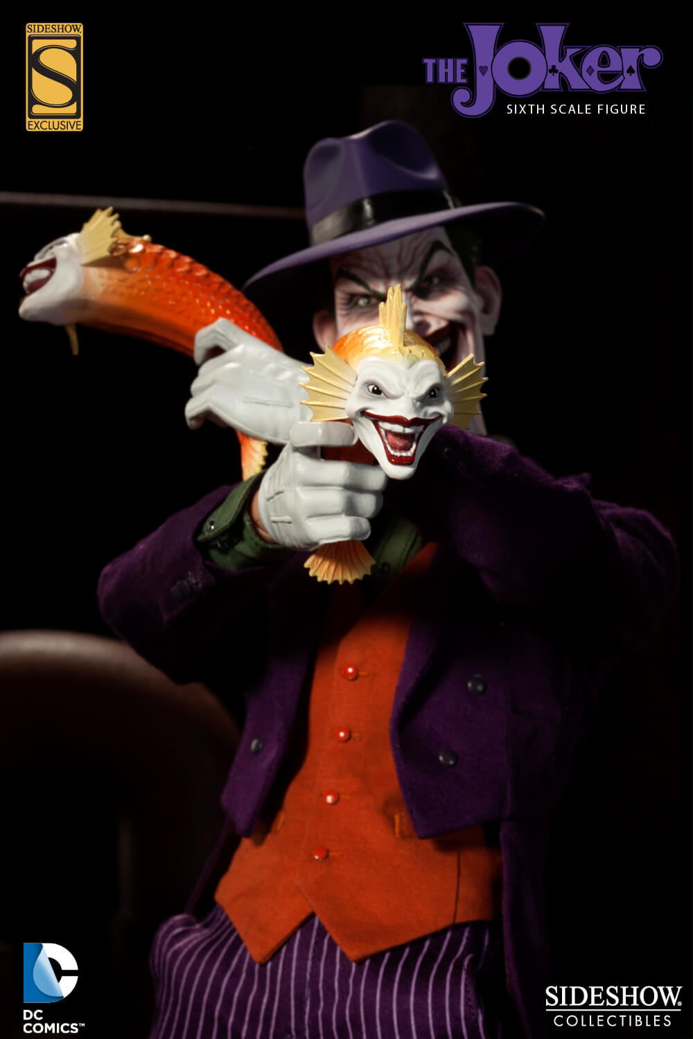 Sideshow Collectibles DC Joker Sixth Scale Figure exclusive accessory