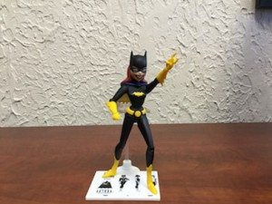 Batgirl in an action figure pose.