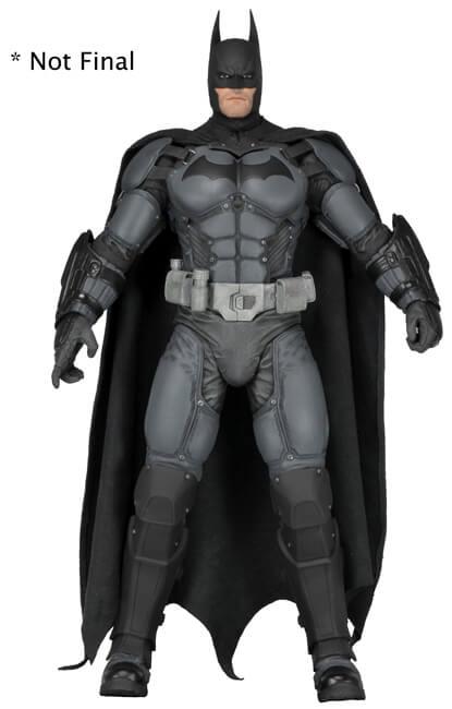 1-4 arkham origins batman figure neca toys