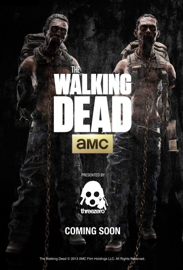 1/6th Scale The Walking Dead License threezero