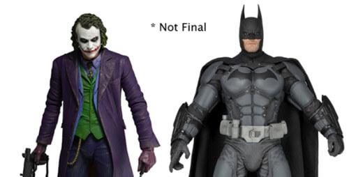 1:4 Scale Dark Knight Joker and Arkham Origins Batman