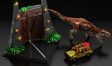 Lego Ideas Jurassic Park reaches 10,000 supporters!