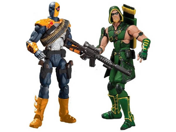 3.75 inch Injustice Wonder Woman and Solomon Grundy Figure Images green arrow deathstrike