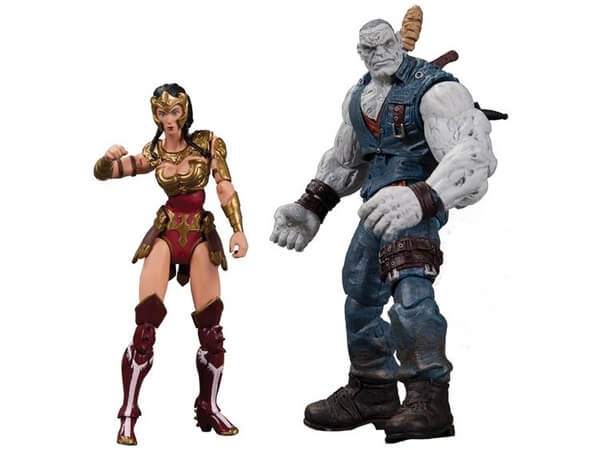 3.75 inch Injustice Wonder Woman and Solomon Grundy Figure Images