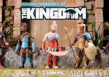 Animal Warriors of the Kingdom Kickstarter funded action figures