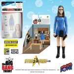 The Bif Bang Pow SDCC2016 Exclusives, Star Trek Big Bang Theory mixed action figure of Amy