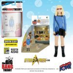 The Bif Bang Pow SDCC2016 Exclusives, Star Trek Big Bang Theory mixed action figure of Bernadette