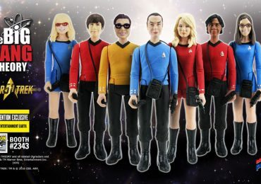 The Bif Bang Pow SDCC2016 Exclusives, Star Trek Big Bang Theory mixed action figures