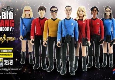 The Bif Bang Pow SDCC2016 Exclusives, Star Trek Big Bang Theory mixed action figures