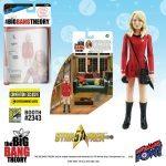 The Bif Bang Pow SDCC2016 Exclusives, Star Trek Big Bang Theory mixed action figure of Penny