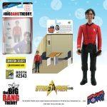 The Bif Bang Pow SDCC2016 Exclusives, Star Trek Big Bang Theory mixed action figure of Raj