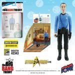 The Bif Bang Pow SDCC2016 Exclusives, Star Trek Big Bang Theory mixed action figure of Sheldon