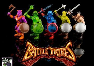 Battle Tribes figures wave 2