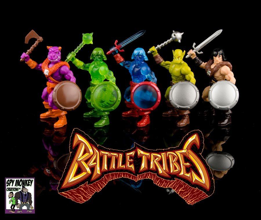 Battle Tribes figures wave 2