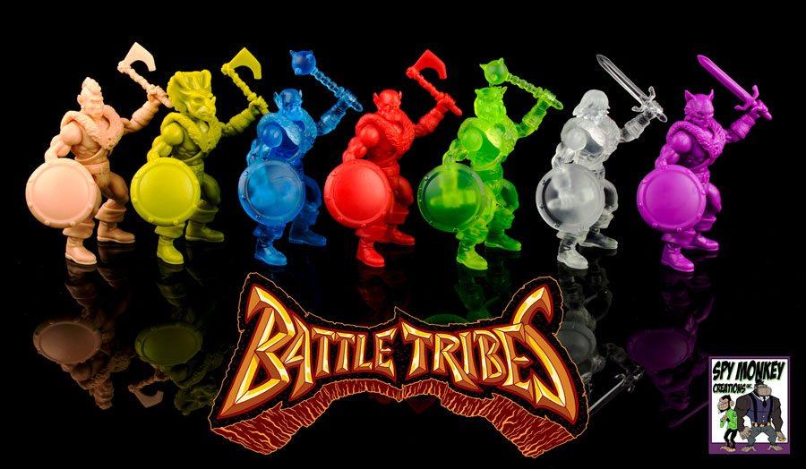 Battle Tribes figures wave 2, paint set