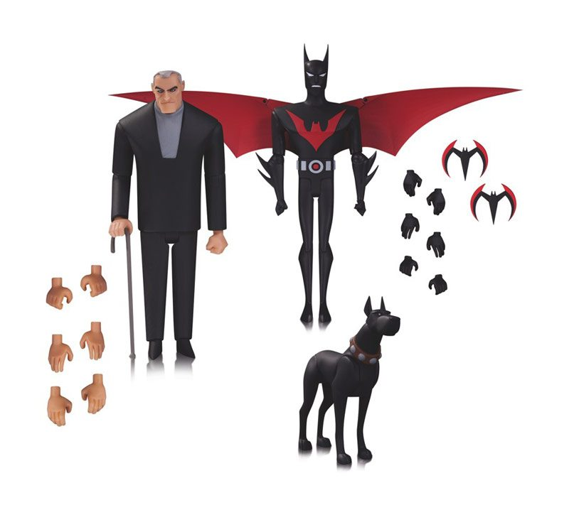 Batman Beyond action figures 3 pack from DC Collectibles