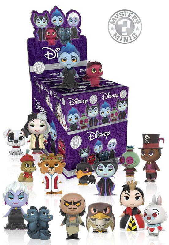 New Disney Villains Mystery Minis from Funko