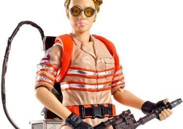 New Ghostbusters movie action figures, featuring Jillian Holtzmann, from Mattel