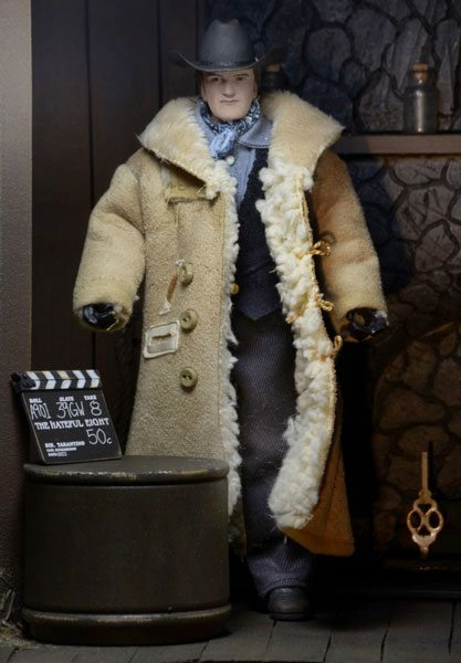 Hateful Eight action figure of Quentin Tarantinio from NECA