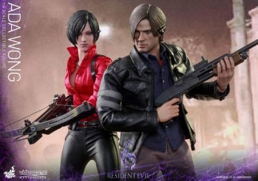 Hot Toys Resident Evil 6 action figures of Leon Kennedy and Ada Wong