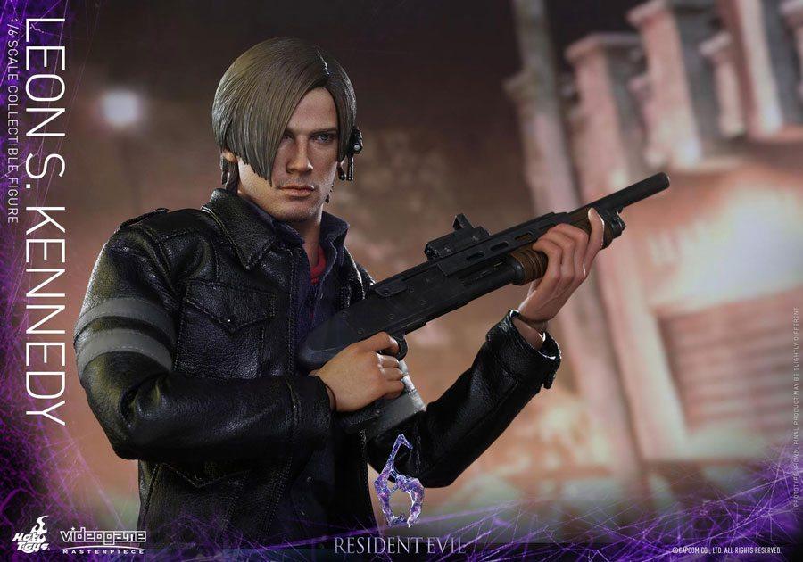 Resident Evil 6 Biohazard Toys : Hot toys creating resident evil action figures of leon