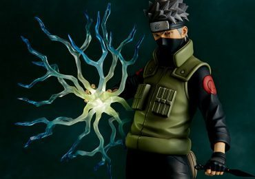 The Gecco Toys Kakashi Hatake posable statue, exclusive edition