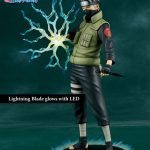 The Gecco Toys Kakashi Hatake posable statue, exclusive edition with base effect