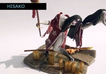 Hisako from the Killer Instinct action figures line from Ultimate Source