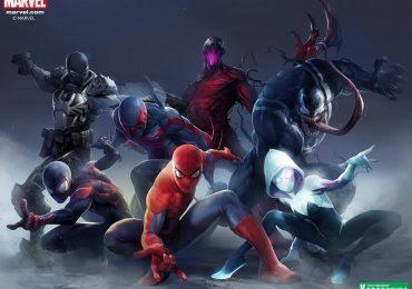 Concept art for the new Spider-Man ArtFX statues coming for Kotobukiya