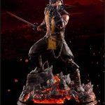 Pop Culture Shock Mortal Kombat X Scorpion statue, exclusive edition