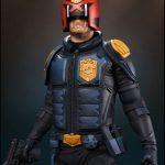 PCS Judge Dredd comic version statue