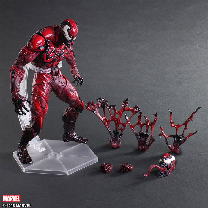 Square Enix Play Arts Kai Venom Action figures