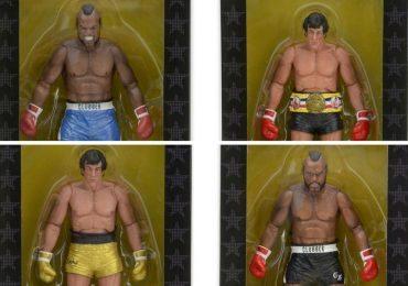 NECA 40th Anniversary Rocky action figures