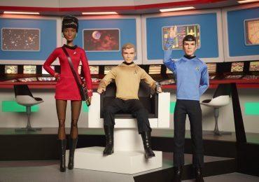 Star Trek Barbie Dolls from the original series
